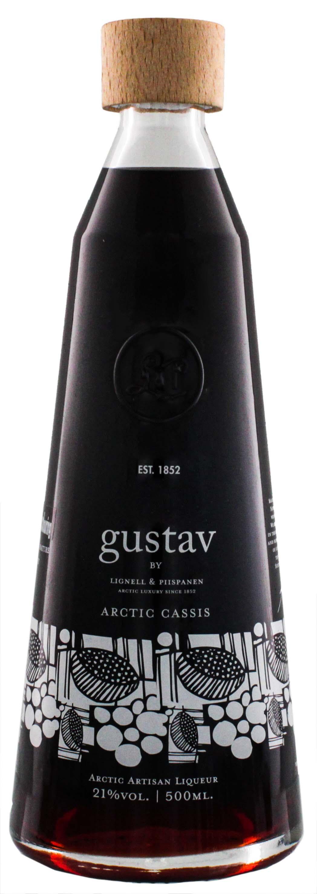 Gustav Arctic Cassis Liqueur 0,5L