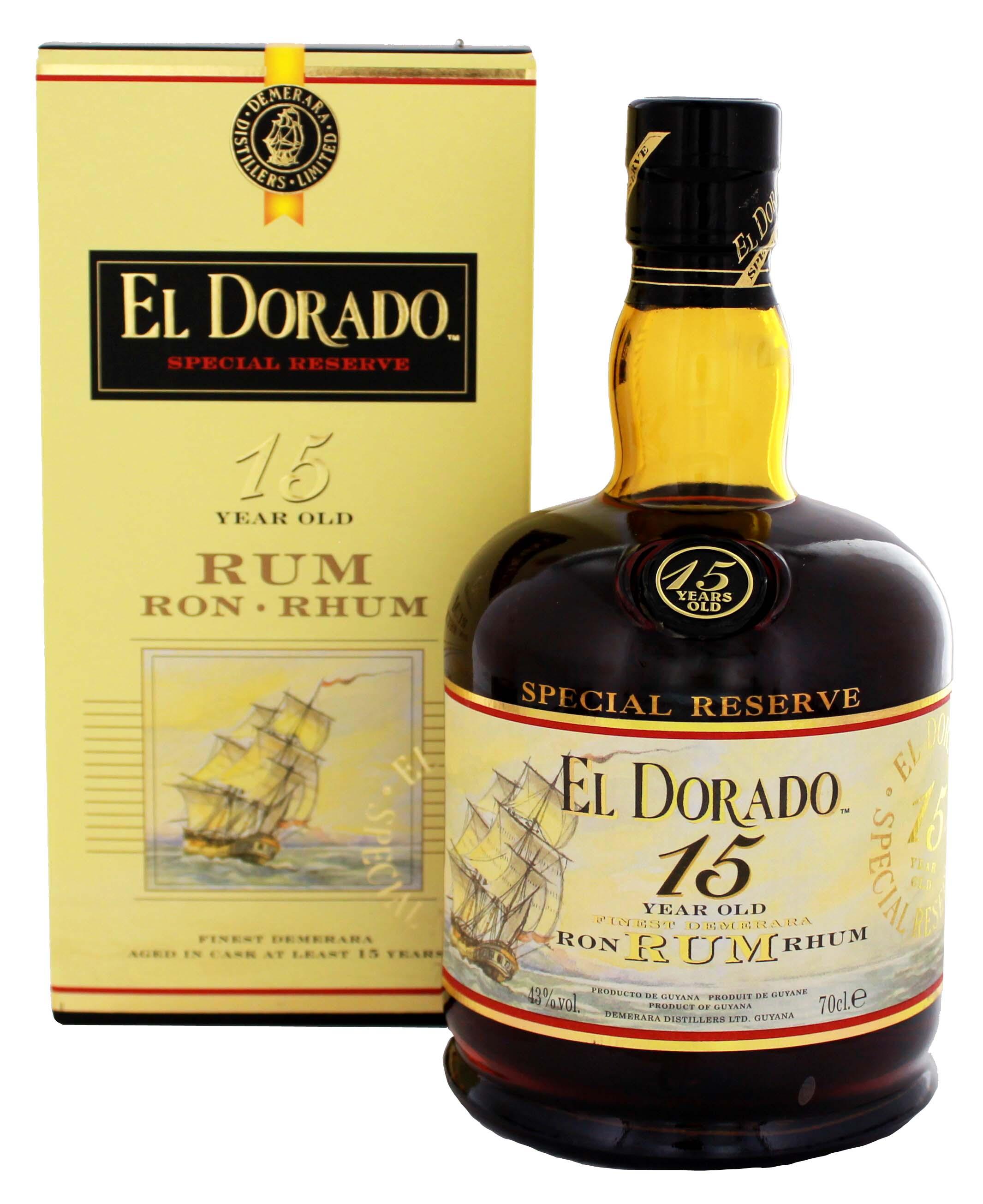 El Dorado Rum 15YO 0,7L