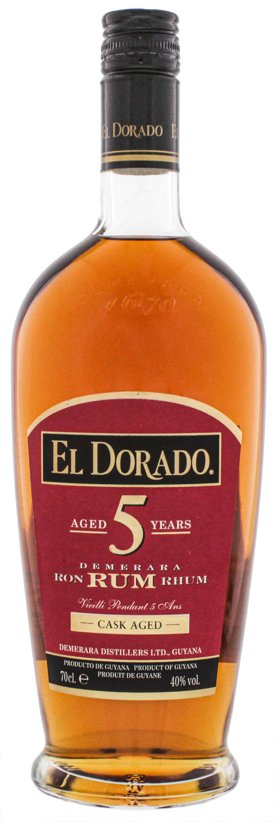 El Dorado Rum 5YO 0,7L