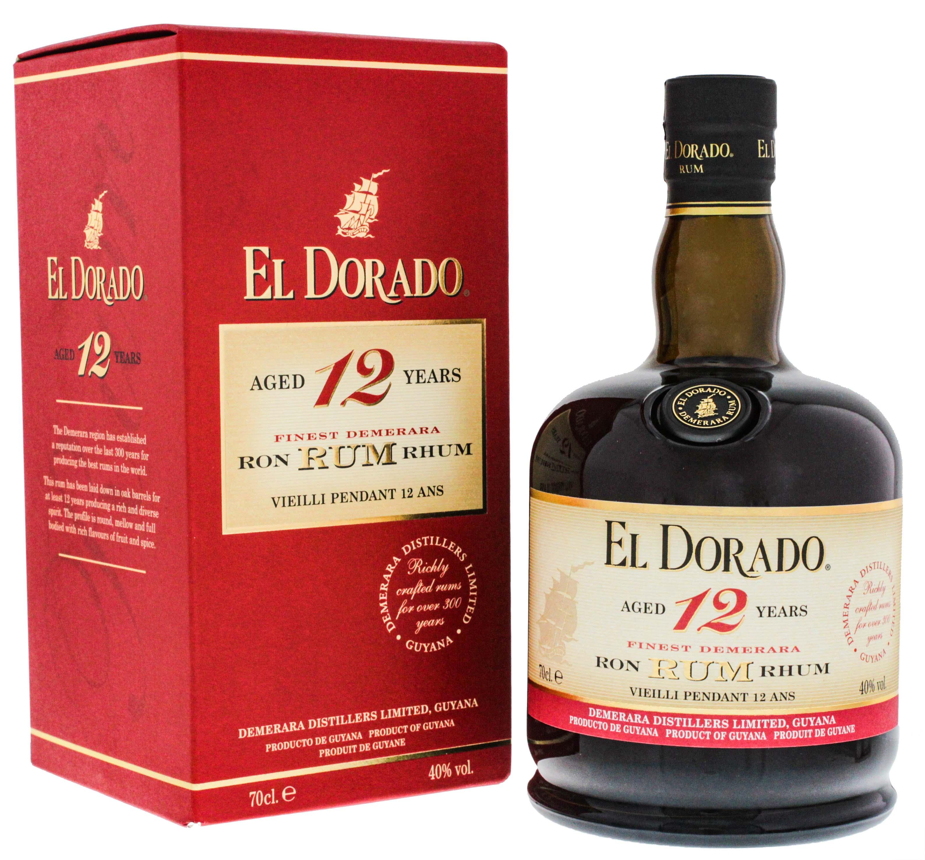 El Dorado Rum 12YO 0,7L