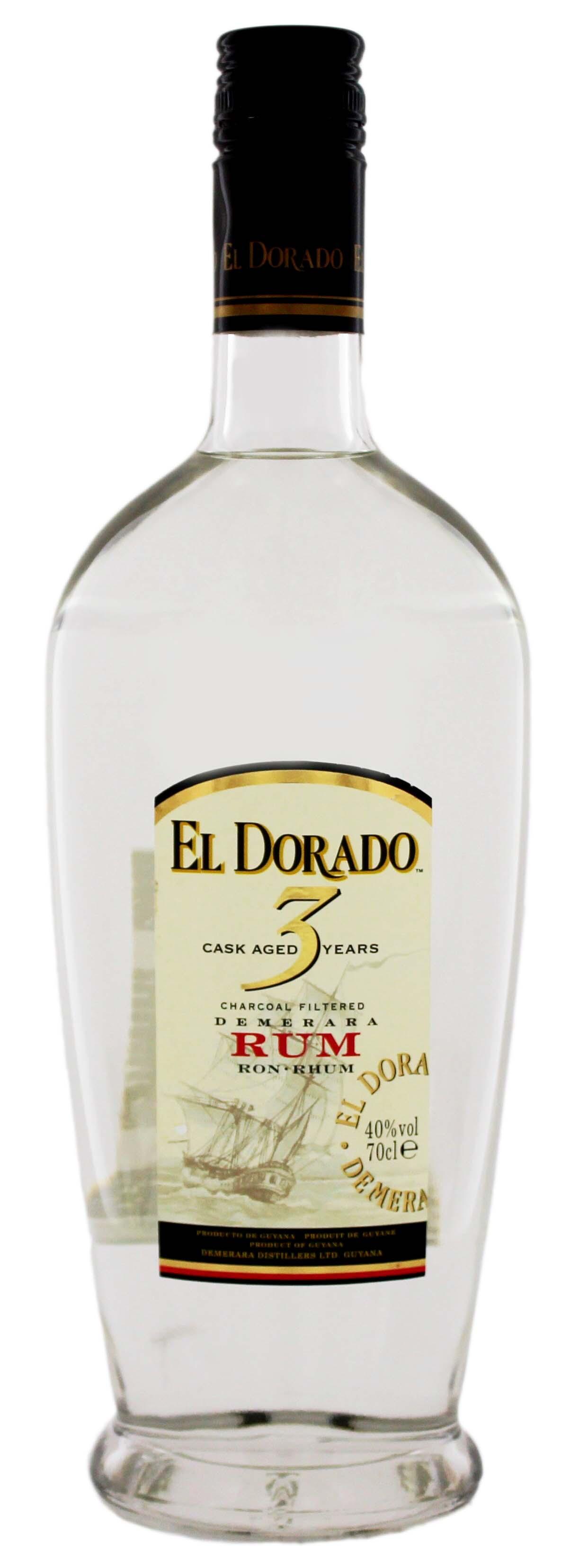 El Dorado Rum 3YO 0,7L