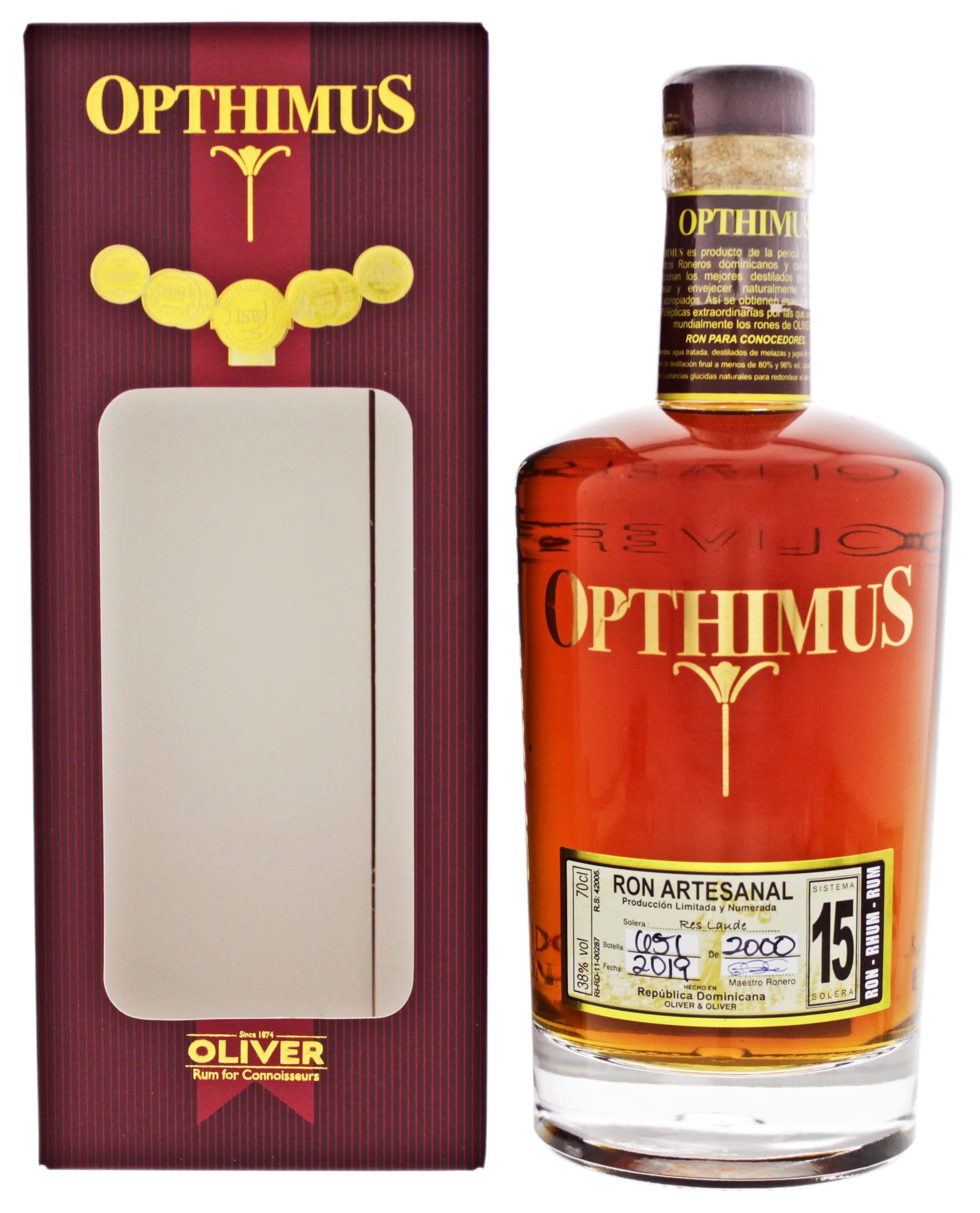 Opthimus 15YO 0,7L