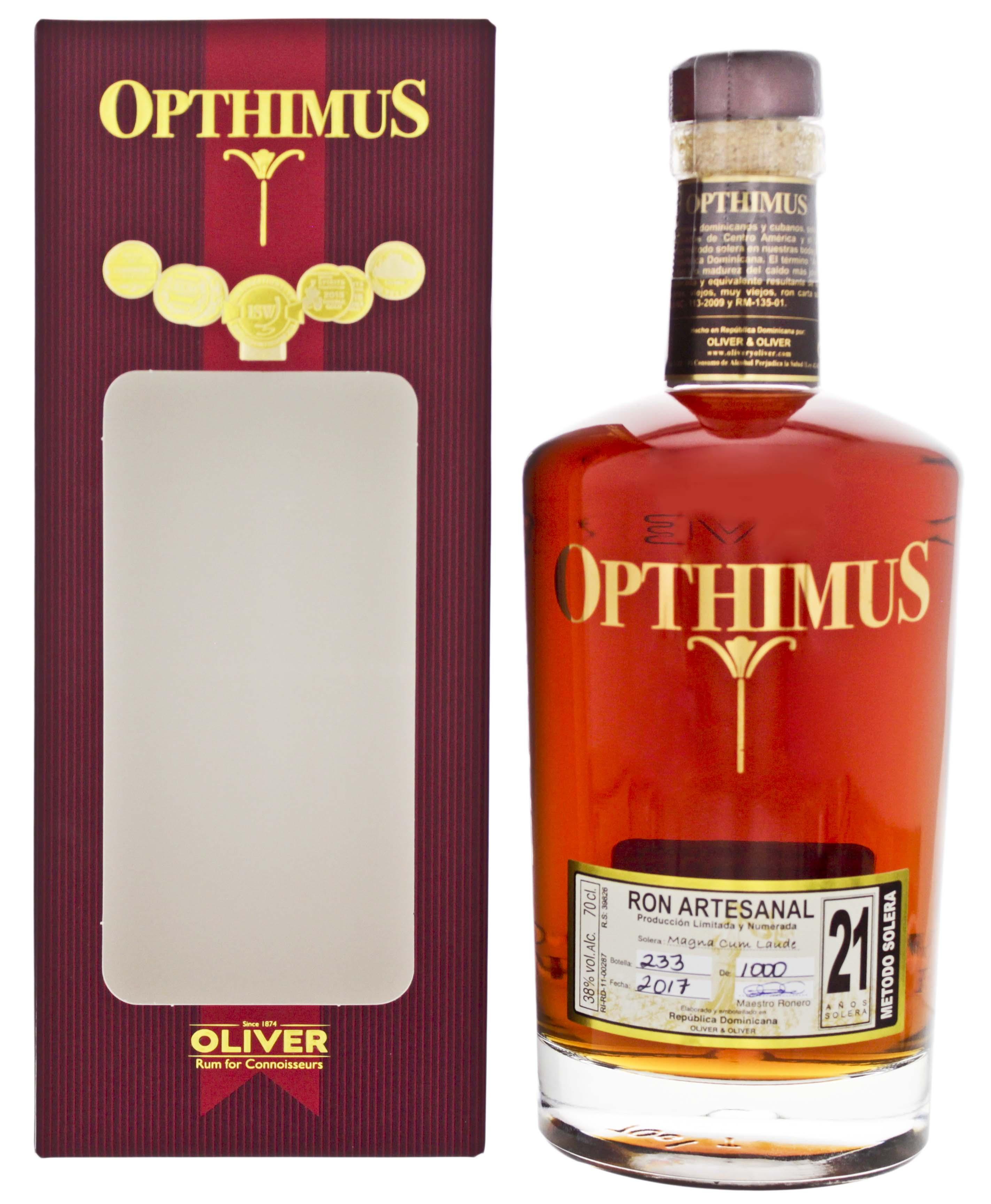 Opthimus 21YO 0,7L