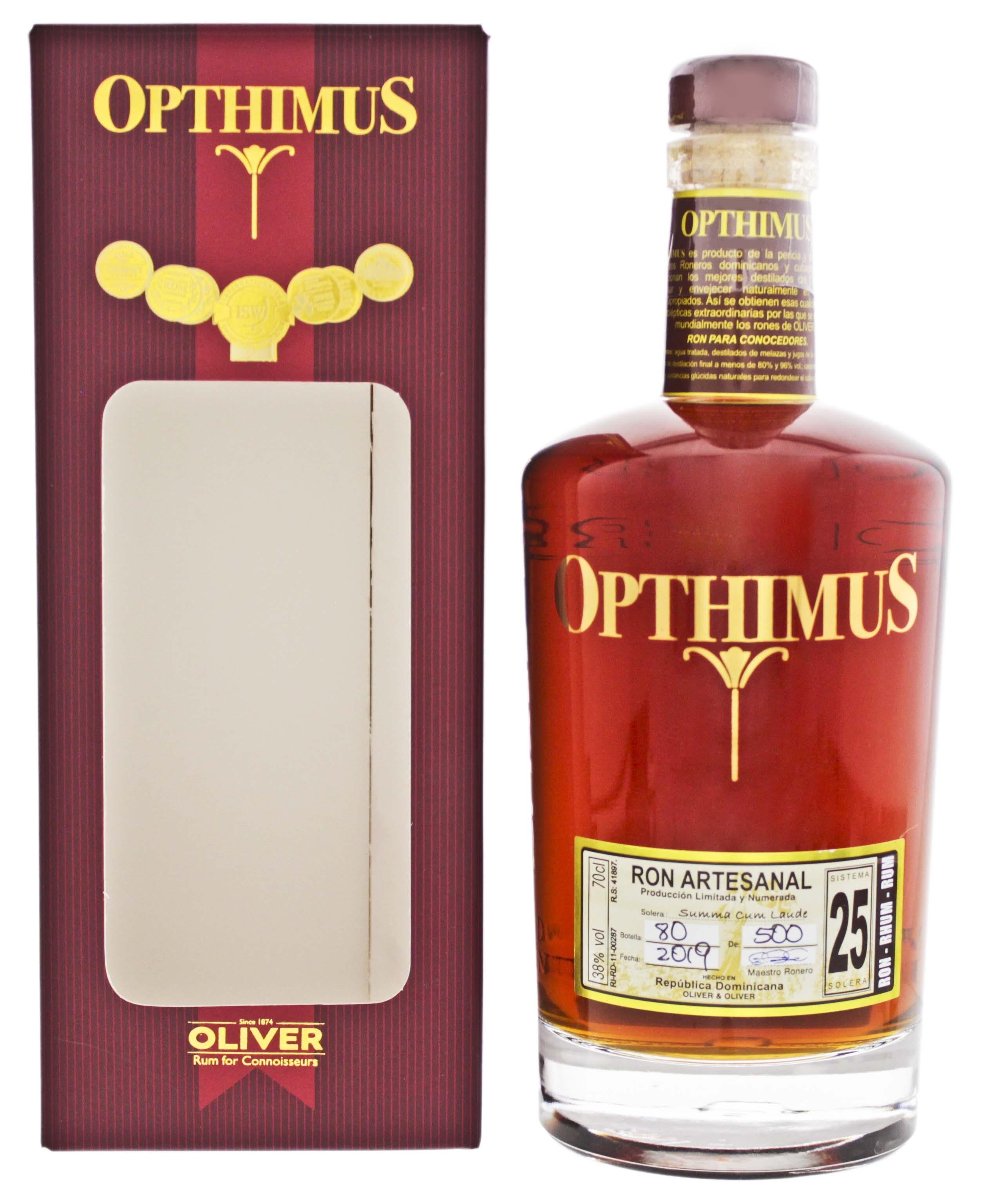Opthimus 25YO 0,7L