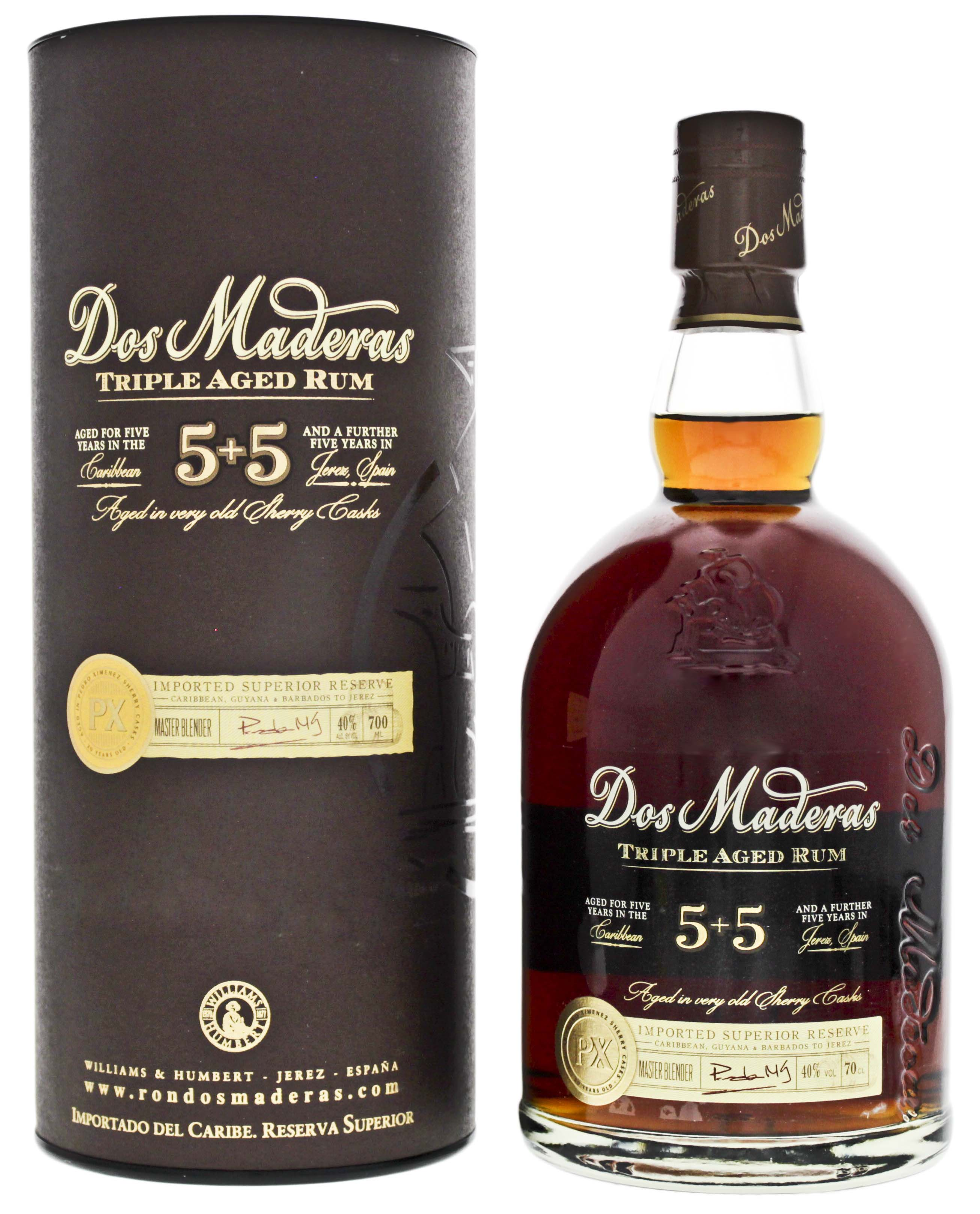Dos Maderas PX Triple Aged 5+5 0,7L