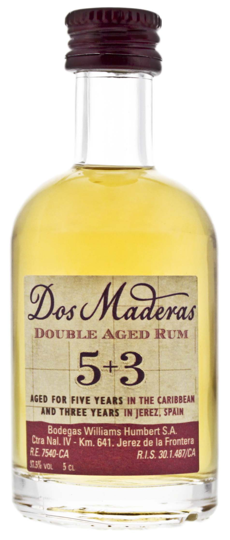Dos Maderas Double Aged 5YO + 3YO Miniatures 0,05L