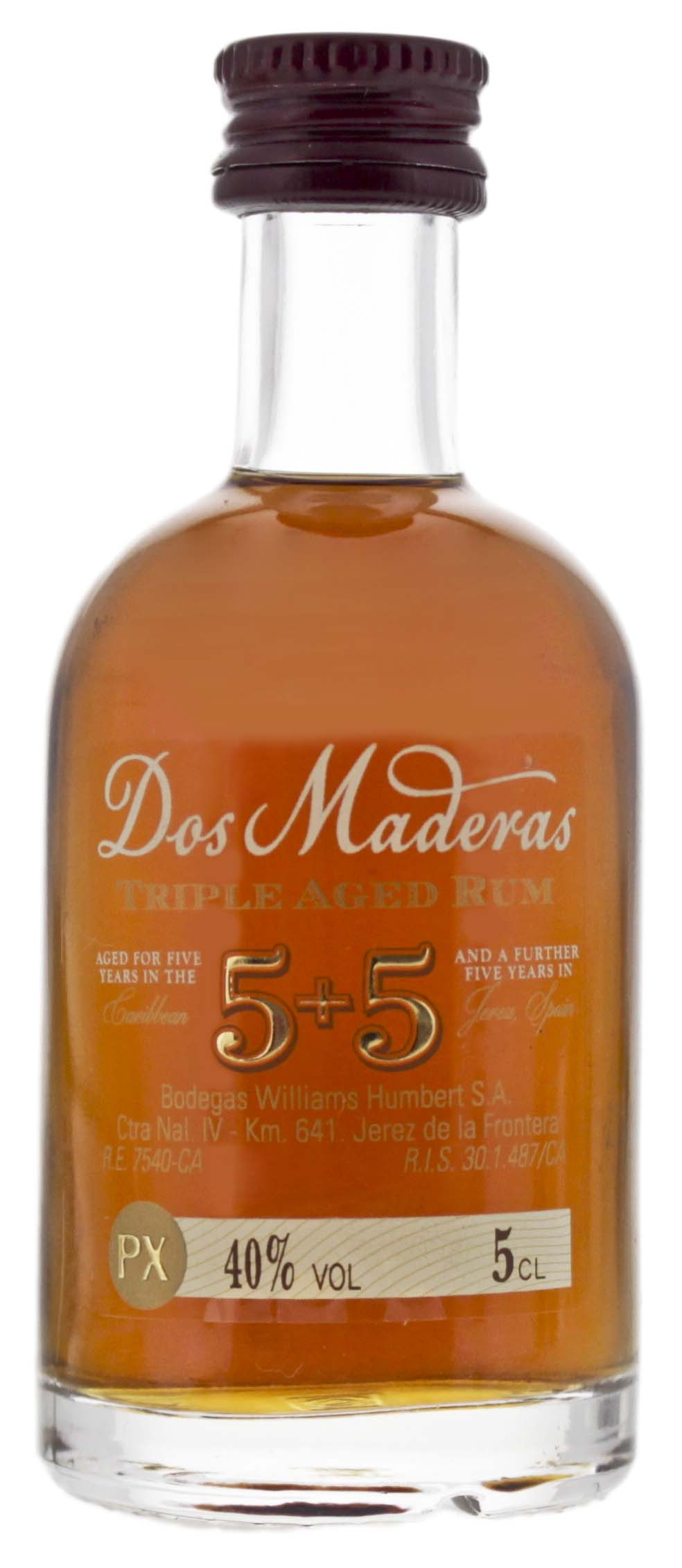 Dos Maderas PX Triple Aged 5+5 Miniatures 0,05L