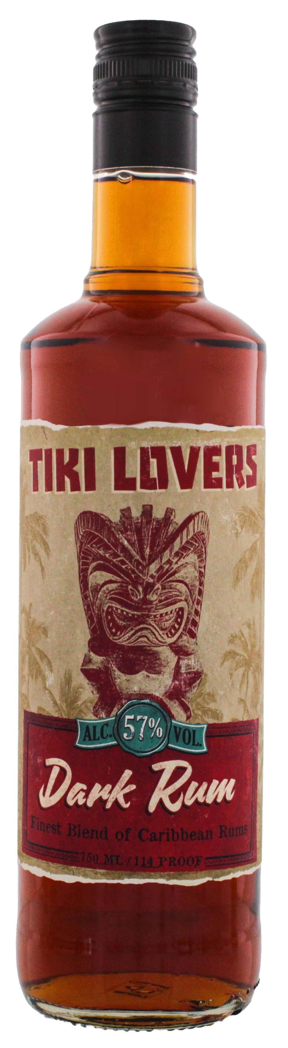 Tiki Lovers Dark Rum 0,7L